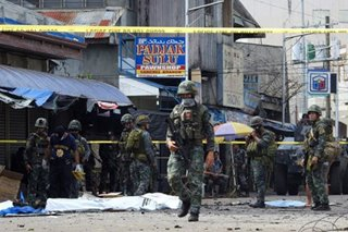 PNP: Jolo church blasts not linked to Bangsamoro plebiscite