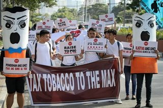 'Tax tobacco to the max,' say health advocates