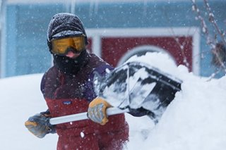 Pinoys in US Midwest warned vs severe winter