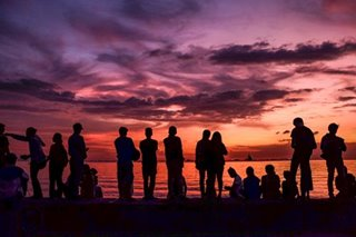 Admiring Manila Bay sunset anew