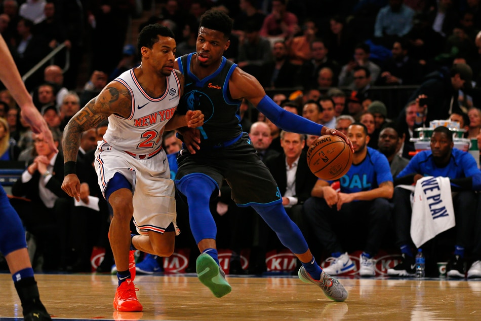 Dallas Mavericks make the blockbuster trade with New York Knicks