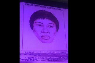 Police release sketch of suspect in QC barangay chair's slay