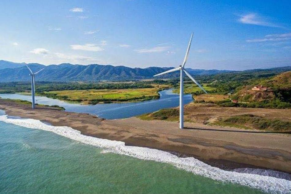 AC Energy wind farm project in Bangui, Ilocos Norte. AC Energy photo