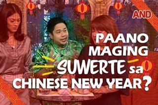 Paano maging suwerte sa Chinese New Year?
