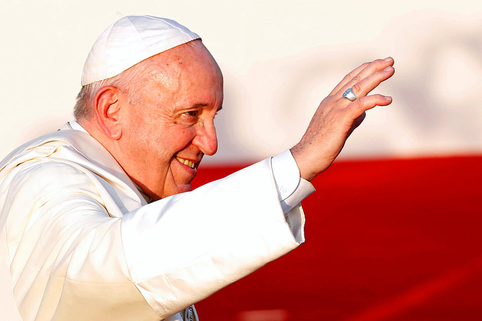 Pope Francis in Abu Dhabi for Interfaith Conference