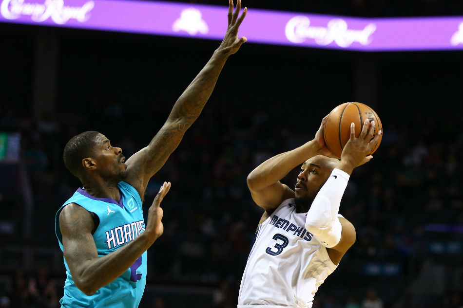 brand new e40b8 a142a NBA: Williams, Monk rally Hornets past Grizzlies | ABS-CBN News