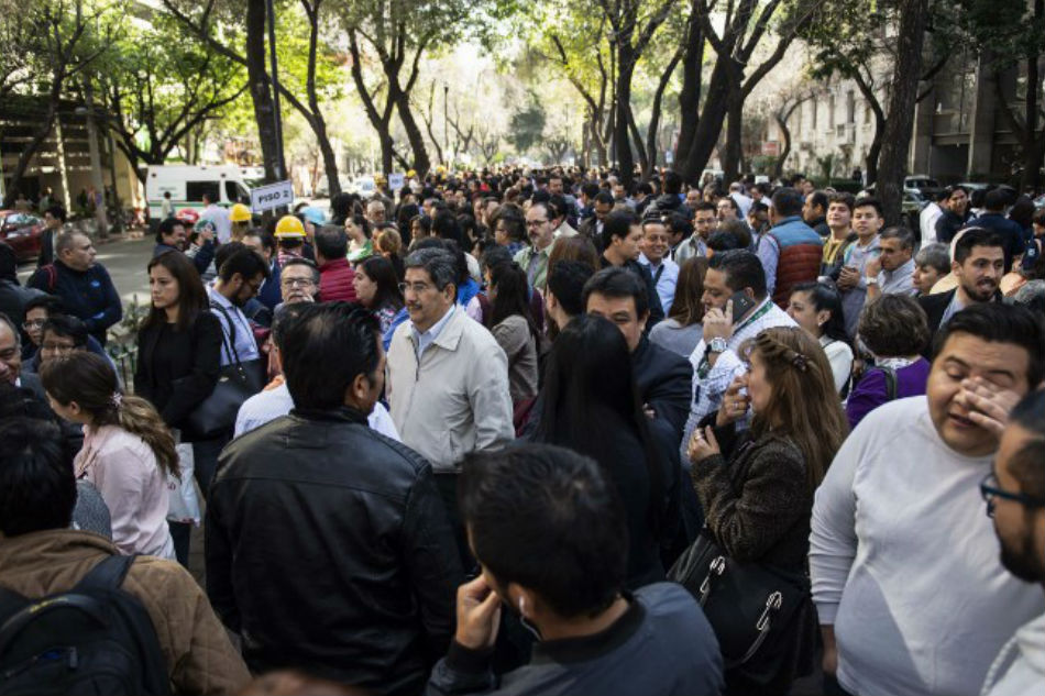 Mexico STRUCK by major 6.6 magnitude natural disaster - Mexico City high-rise buildings SHAKE
