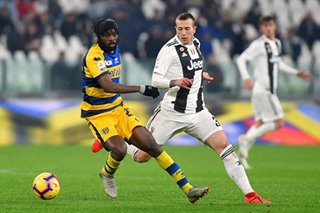 Serie A: Gervinho matches Ronaldo double as Parma frustrate Juventus