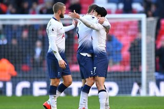 Premier League: Son shines for Spurs as Higuain eases Sarri blues