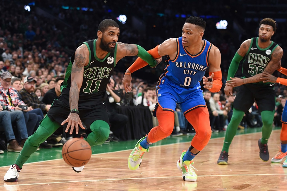 Celtics escape late-game free throw drama, complete season sweep of Thunder