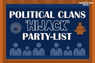 EXCLUSIVE: Political clans 'hijack' party-list