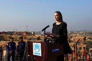 Angelina Jolie demands Myanmar 'commitment' to end anti-Rohingya violence
