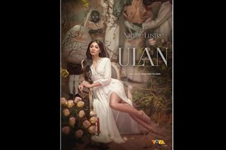 LOOK: Nadine looks like a goddess in 'Ulan' poster