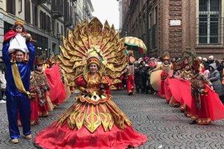 Sinulog Festival sa Europa, dinagsa ng mga deboto