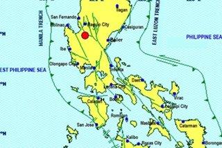 Magnitude 5.5 quake rocks Pangasinan
