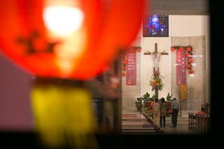 Merging Chinese culture with Filipino Catholicism