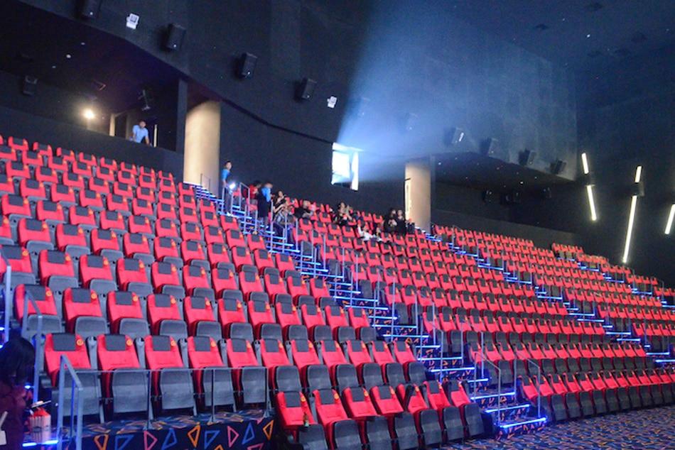 A local cinema via Mark Demayo, ABS-CBN News