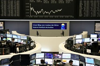 Global stocks tumble on weak eurozone outlook, US-China trade angst