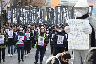 'I am Kim Yong-Kyun': Thousands mourn tragic death of coal worker in South Korea