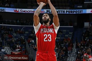 NBA: Davis returns but sits out end of Pelicans' win