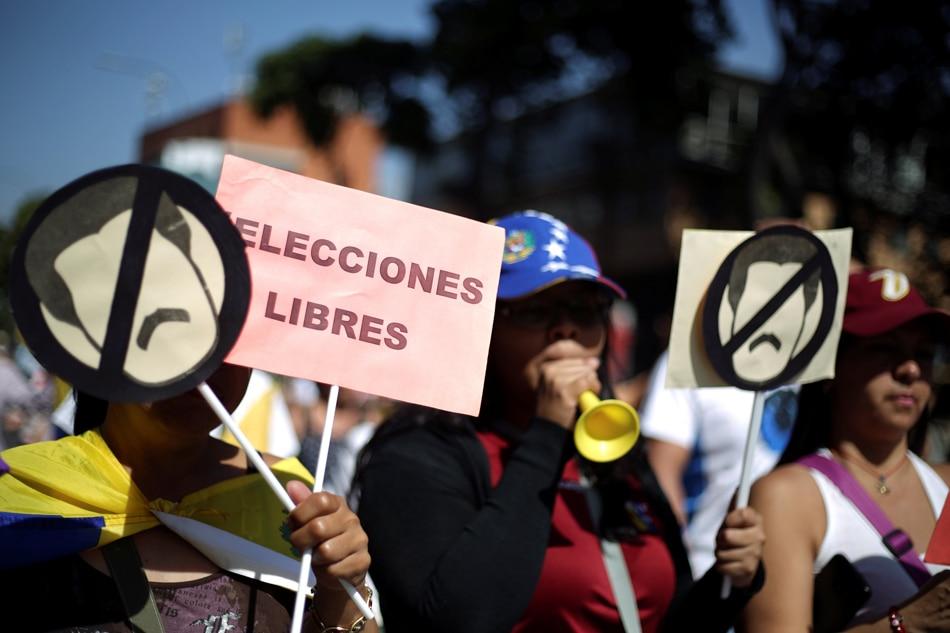 USA  seeks United Nations  draft resolution calling for Venezuela elections