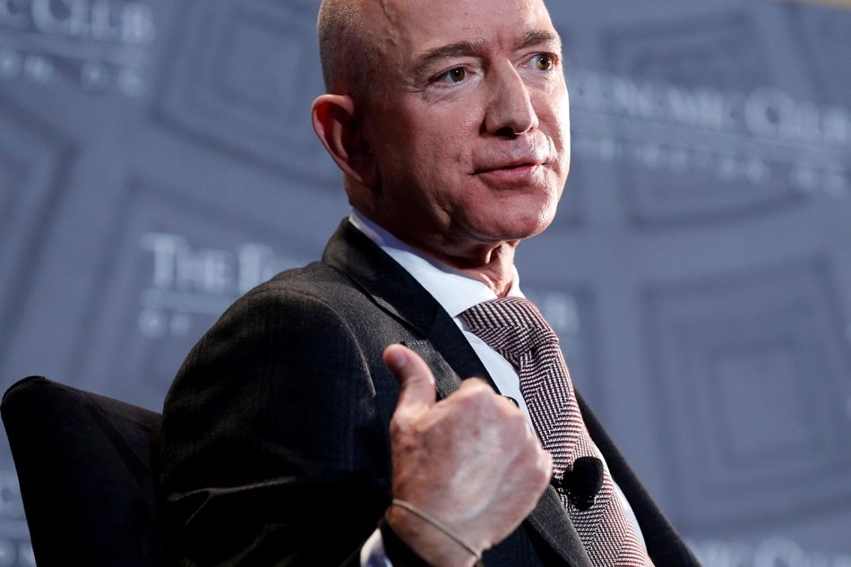Bezos's lover's brother leaked texts to the National Enquirer