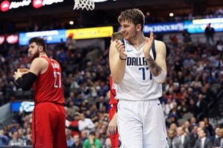 NBA: Doncic rallies Mavericks past Trail Blazers
