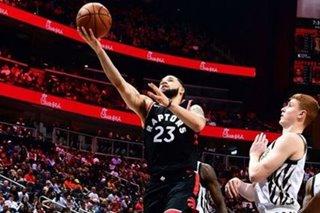 NBA: Raptors G VanVleet out 3 weeks with thumb injury