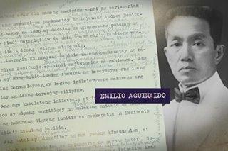 Liham ni Aguinaldo ukol sa umano'y utos niya na ipapatay si Bonifacio, ipapakita