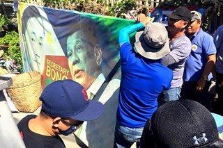 Mga campaign poster na lumabag sa patakaran ng Comelec, binaklas sa Iloilo