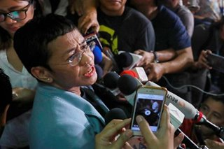 Maria Ressa, Rappler move to dismiss cyber libel charge