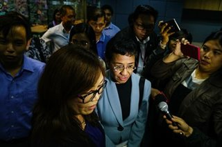Amanpour, Albright, international groups hit Maria Ressa arrest
