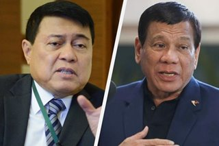 'Nagdala siya ng pera sa bag': Duterte vows support if Villar runs for president anew