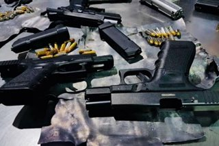 P500,000 worth of 'misdeclared' firearms, ammo seized in Pasay