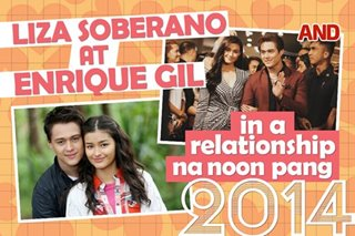 Liza Soberano at Enrique Gil, in a relationship na noon pang 2014