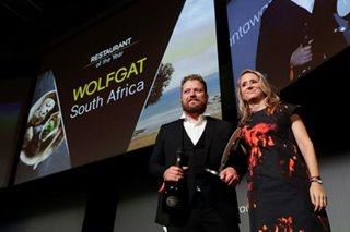 Tiny S. Africa beach restaurant crowned best in world