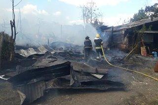 Fire razes 30 homes in Bohol
