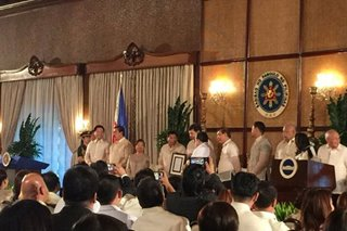 Health care for all: Duterte signs Universal Healthcare Act