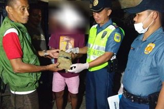 Another cocaine block washes ashore in Quezon