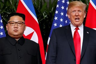 Kim must make 'meaningful' gesture to see sanctions ease: Trump