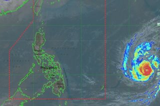 Typhoon off Mindanao unlikely to enter PAR