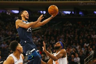 NBA: Timberwolves manage to sink Knicks without Towns