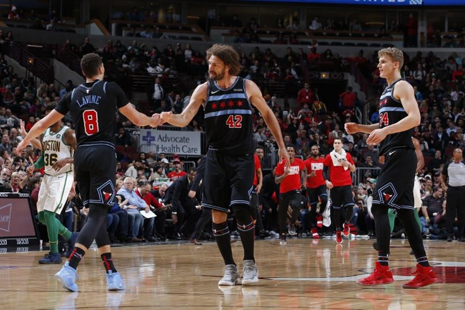 NBA: LaVine, Markkanen power Bulls past Celtics | ABS-CBN News