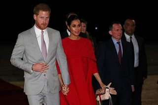 Harry and Meghan in Morocco on last official trip before birth