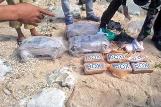 Floating cocaine bricks found only in the Philippines - PDEA