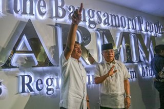 Bangsamoro transition leaders formally take over ARMM