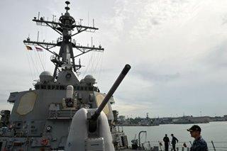 Two US Navy ships sail through Taiwan Strait