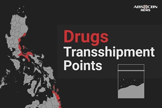 Philippines as transshipment point: Where illegal drugs were found floating