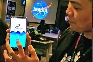 Filipino-made 'ISDApp' makes historic trip to NASA