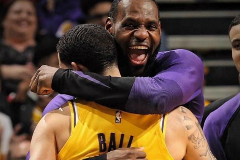e388c7c80588 NBA  LeBron s Lakers finale veers off script